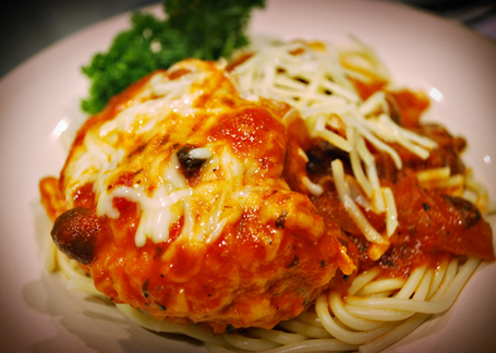 Chicken Parmigiana Italia {Electric Digital Pressure Cooker Recipe}