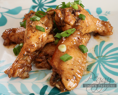 Chinese Coca-Cola Chicken Wings {Electric Pressure Cooker Recipe}